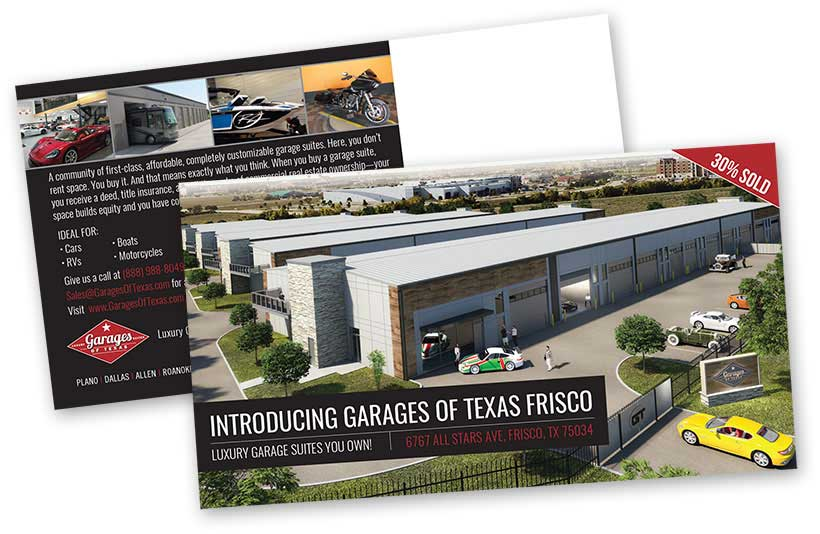 Garages of Texas Mailers
