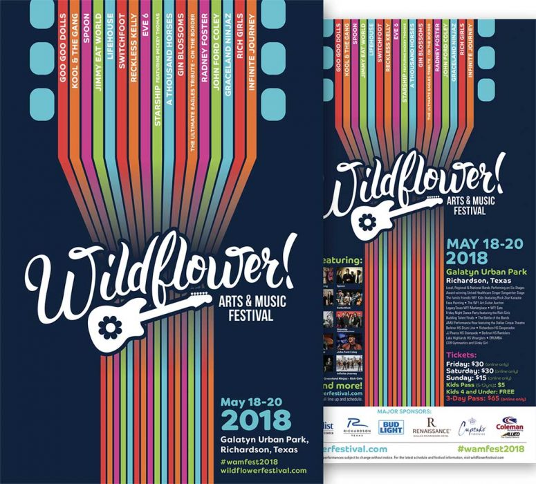 Wildflower Promotional Poster