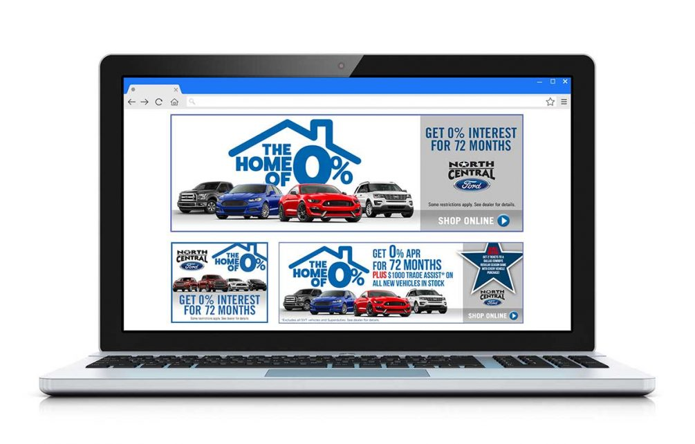 North Central Ford Digital Placement