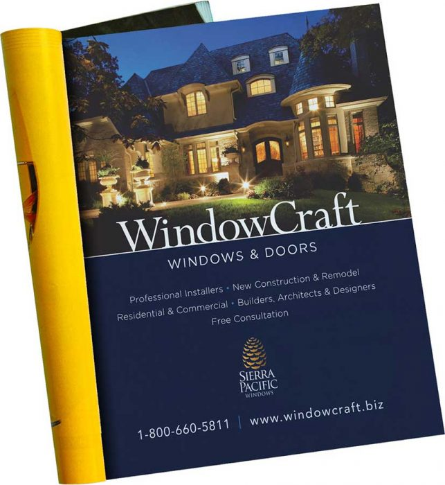 WindowCraft Magazine Placement